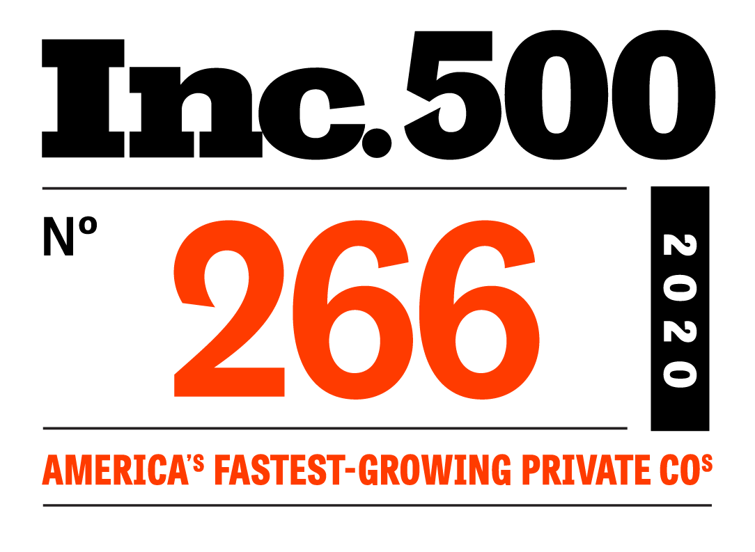 Inc. 500 N 266 2020 America's Fastest-Growing Private COs